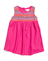 Baby Girls Super Soft Smocked Kimi Dress