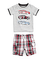 Infant Boys Car T-shirt & Short Set