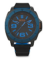 Men's Sao Paulo Silicone Strap Watch