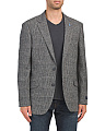 Wool Blend Plaid Sport Coat