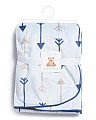 Baby Boys Plush Arrow Blanket