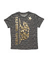 Big Boys Foil Cali Bear T-shirt