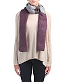Made In Italy Color Block Oblong Scarf