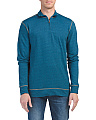 French Terry Slub Quarter Zip Top
