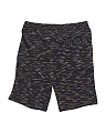 Big Boys Pieced Fleece Shorts