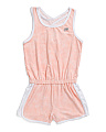 Little Girls Cross Back Active Romper