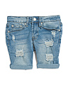 Big Girls Josefina Denim Shorts