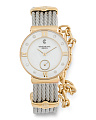 Women's Swiss Made St. Tropez Two Tone Bracelet Watch