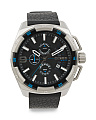 Men's Chrono Heavyweight Leather Strap Watch