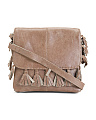 Leather Fringe Crossbody