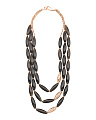 Made In Italy Sterling Silver Smoky Quartz Sahara Necklace
