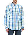 Plaid Dockside Chambray Shirt