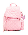 Girls Quilted Mini Backpack