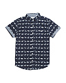 Big Boys Dino Woven Shirts
