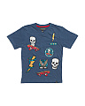 Big Boys Slub Patch V-neck Tee