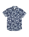 Big Boys Tropical Breeze Woven Shirt