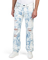Skinny Flap Destructed Jeans