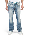 Straight Leg Chainstitch Jeans