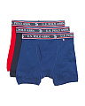 3pk Cotton Boxer Briefs