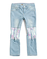 Big Girl Paillette Patch Jeans