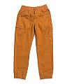 Big Boy Twill Double Pocket Joggers