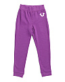 Little Girls Logo Sweatpants