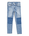 Little Girls Skinny Denim Pants