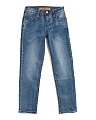 Big Boys Brixton Fit Stretch Jeans