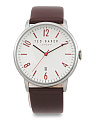 Men's Cliffton Leather Strap Watch