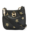 Starry Night Leather Crossbody