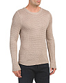 Mercerized Mix Sweater