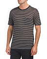 Striped Jersey Wool Tee