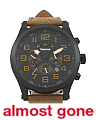 Men's Tilden Casual Leather Strap Watch