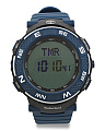 Men's Mendon Digital Display Silicone Strap Watch