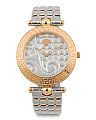 Women's Swiss Made Vanitas Quilted Strap Watch