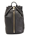 Leather Tamitha Backpack with Safety Lock