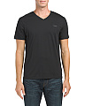 Pima V Neck T-shirt