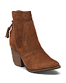 Made In Brazil Western Inspired Suede Booties