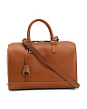 Made In Italy Leather Speedy Bag