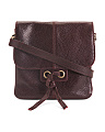 Leather Detail Front Crossbody