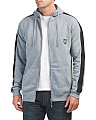 Side Stripe Fleece Hoodie