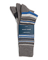 3 Pair Town Striped Crew Socks