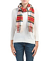 Made In Germany Classic Cashmink Plaid Scarf