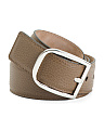 Men's Made In Italyleather Belt