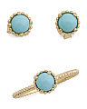 Made In Italy 14k Gold Turquoise Collection