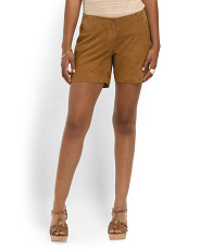 image of Suede Alexis Shorts