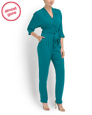 image of Silk Blend Eloise Jumpsuit