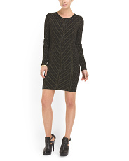image of Danni Pointelle Sweater Dress