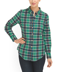 image of Cotton Button Down Shirt