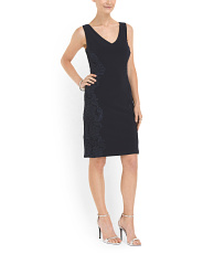 image of Side Lace Inset Dress